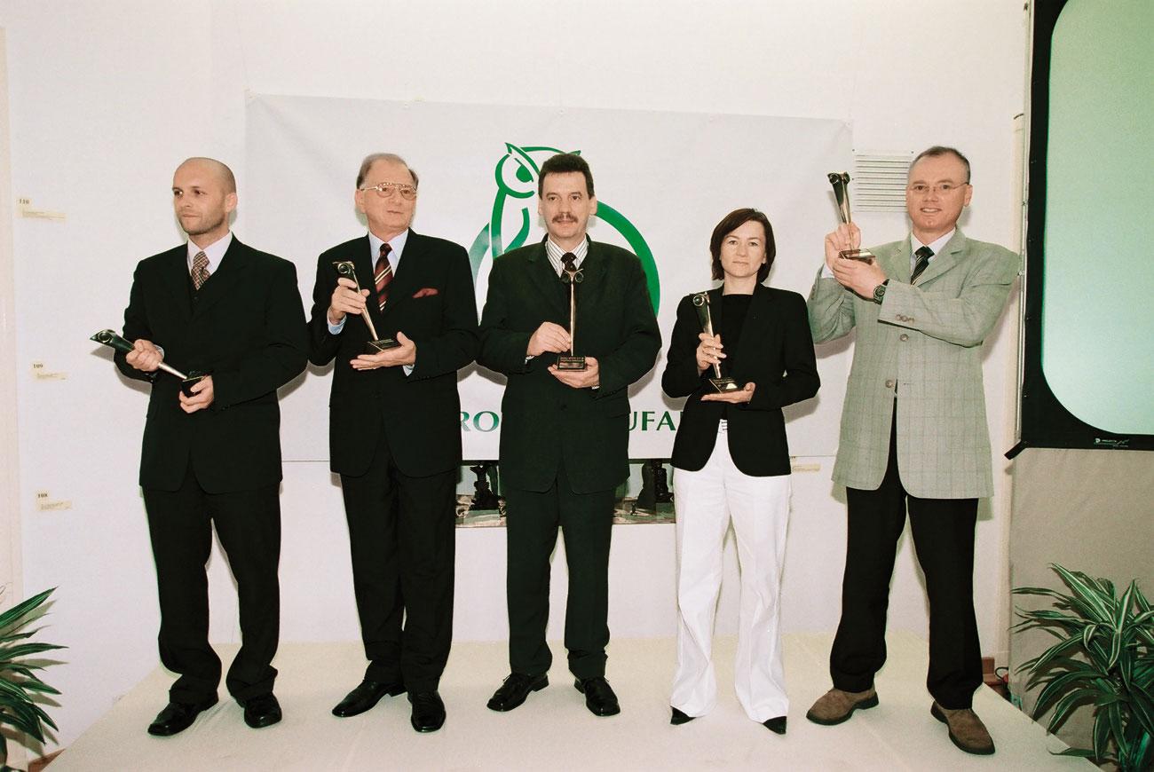 Złoty OTIS 2003_04
